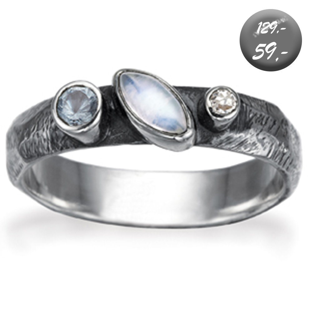 ***Ring - Oval Moon***