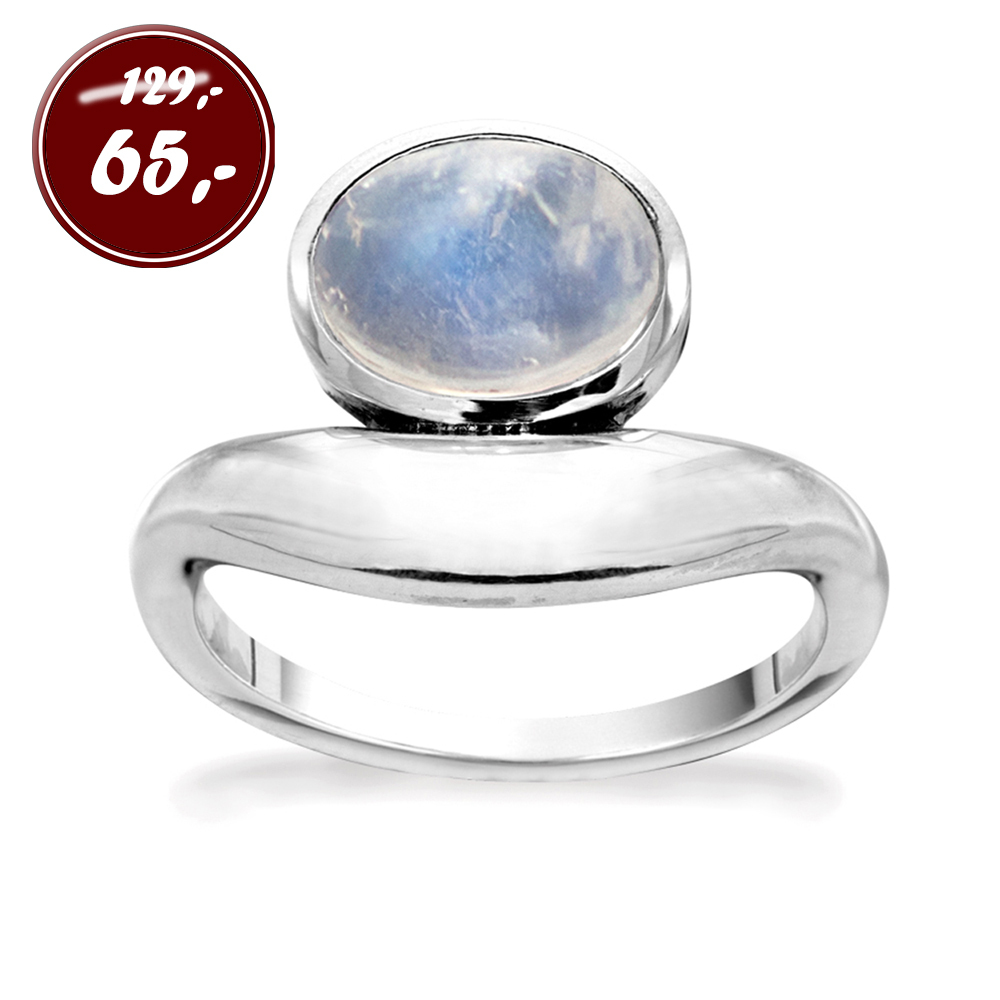 Ring - Marble Blue